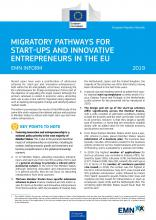 EMN Inform: Migratory Pathways for Start-ups and Innovative Entrepreneurs in the European Union