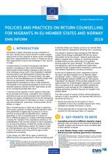 EMN Inform package on return counselling