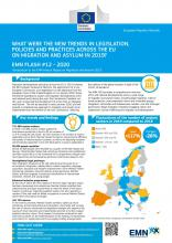 EMN Flash: What Were The New Trends in Legislation, Policies and Practices Across the EU on Migration and Asylum in 2019?