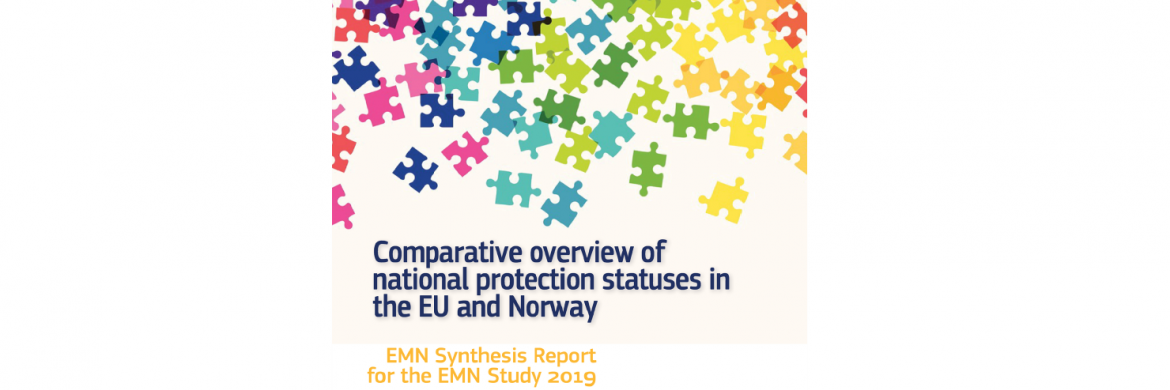 New EMN study published: Comparative overview of national protection statuses in the EU and Norway